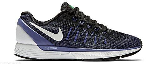 Nike 844546-003, Scarpe da Trail Running Donna, Nero/Bianco/Viola (Dk Purple Dust), 40.5 EU