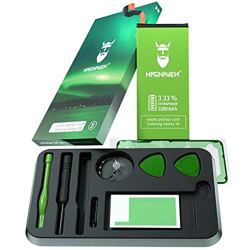 Batería Hagnaven® Li-polímero para Samsung Galaxy S8 | con Herramientas | 3100 mAh | Celdas Mayor AUTONOMÍA