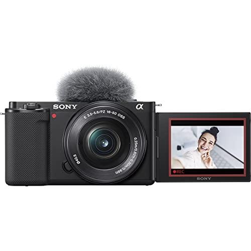 ソニー レンズ交換式 VLOGCAM ZV-E10L B パワーズームレンズキットブラック Vlog用カメラ Cinematic Vlog ...