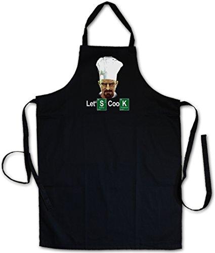 Urban Backwoods Let's Cook Chef Grillschürze Kochschürze