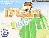 Gari Gelatina Light Sabor Limon - 20 Gramos