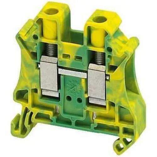 Schneider NSYTRV102PE Linergy Erdungsklemme, 10mm2, 76A, eine Ebene, 1x1, Schraube, grün-gelb