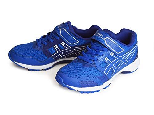 [アシックス] LAZERBEAM RF-MG レーザービーム ランニングシューズ キッズ ジュニア スニーカー マジックテープ 通学靴 ウォーキング スポーツ 軽量 運動靴 [402] T.BLUE/WHITE 24cm