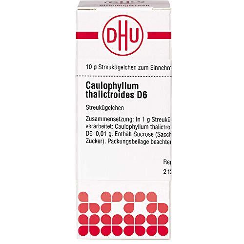 DHU Caulophyllum thalictroides D6 Streukügelchen, 10 g Globuli