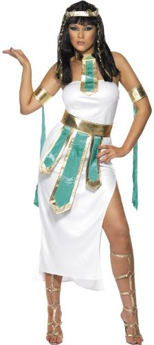 Smiffy's - Disfraz de egipcia para mujer, talla M (30454M)