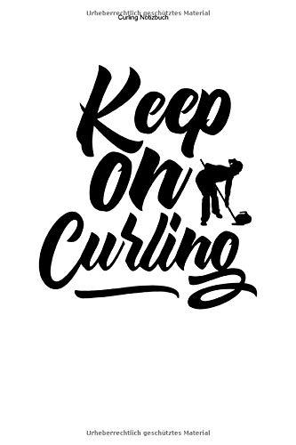 Curling Notizbuch: 100 Seiten   Punkteraster   Stockschießen Training Team Trainer Curlerin Curl Mannschaft Geschenk Eisstock Sport