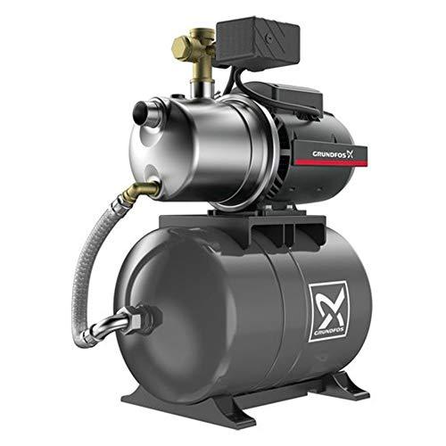 Grundfos Wasserpumpe, 20 l, JP548PT – Wasserpumpe, 1,49 kW, 1,5 bis 5 m³/h, einphasig, 220 V