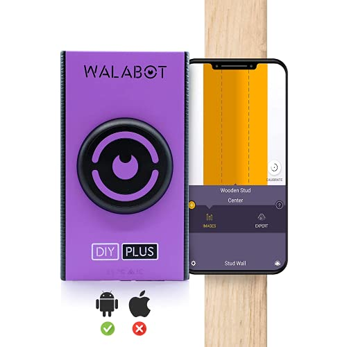 Walabot DIY Plus - Advanced wall scanner, stud finder - For Android Smartphones - NOT compatible for iPhone and iPads and tablets -DY2PBCGL01