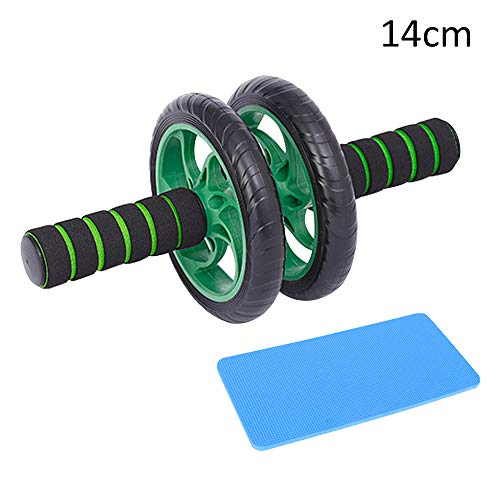 Learn More About HOBOYER Ab Wheel Rollers, Abdominal Wheel with Blue Pad Exercise Dual Wheels Non-Sl...