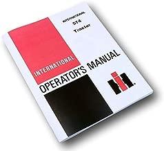 International 574 Tractor Owners Operators Manual Maintenance Controls Gas Diese
