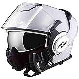 Astone Helmets Casco modular Ls2 Valiant blanco