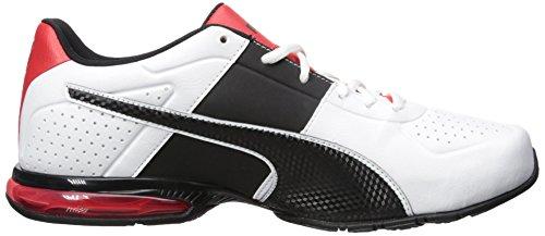 PUMA Men's Cell Surin 2 Sneaker, White/Black, 9.5 UK