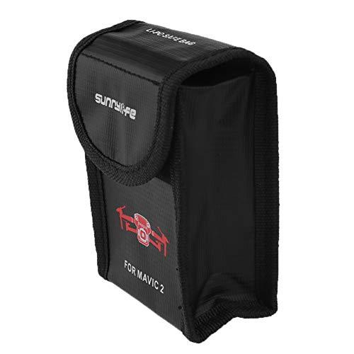 ENET Explosiebestendige batterij LiPo veilige opslag bescherming bescherming zakken zak zak compatibel met DJI Mavic 2 Pro Zoom Drone, S/M/L