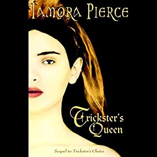 Trickster's Queen audiobook cover art