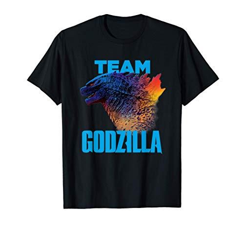 Godzilla vs Kong - Official Team Godzilla Neon T-Shirt