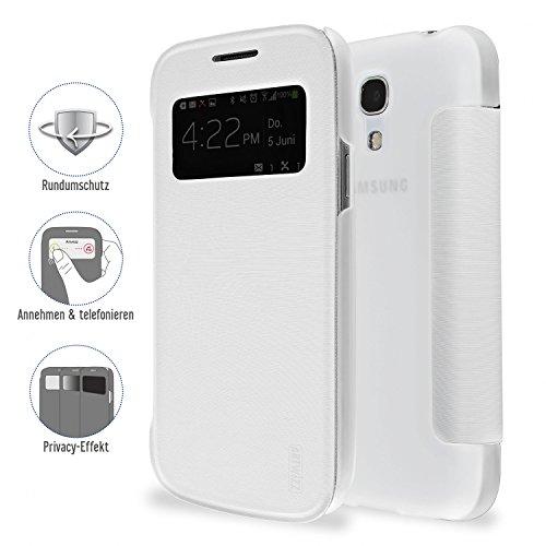 Artwizz 4388-1199 SmartJacket Preview Schutzhülle für Samsung Galaxy S4 Mini, weiß