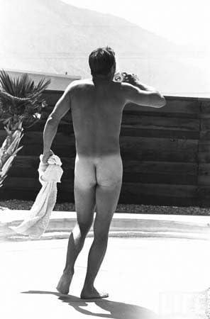 Foto agentes Steve McQueen desnudo al aire libre 1963 ...