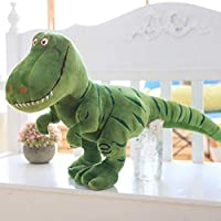 1pc 40〜120cm新しい恐竜、漫画のぬいぐるみ、ティラノサウルス、かわいい、ぬいぐるみ、子供向けの人形、男の子の誕生日プレゼント