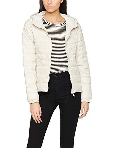 Only Onltahoe Hooded Spring Jacket CC Otw Giacca, Grigio (Moonbeam Moonbeam), 36 (Taglia Produttore: Small) Donna