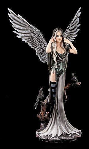 Dark Angel Figur - Raben Schatten - Gothic Engel