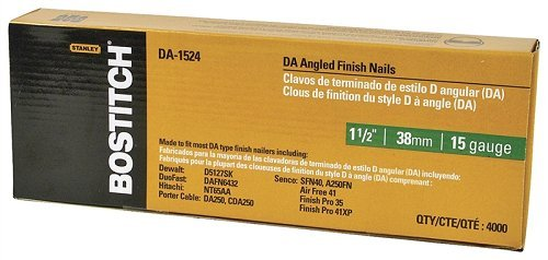 Stanley Bostitch # da-1524 4000pk 1 – 1/2 'Fini uñas