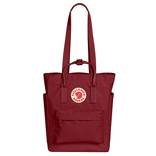 Fjallraven, Kanken Totepack Backpack with 13' Laptop Sleeve for Everyday Use and Travel, Ox Red