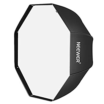 Neewer 32 inches /80 centimeters Octagon Softbox Octagonal Speedlite Studio Flash Speedlight Umbrella Softbox with Carrying Bag for Portrait or Product Photography.