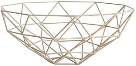 HOUSE DOCTOR Schüssel cáscara geométrica diseño