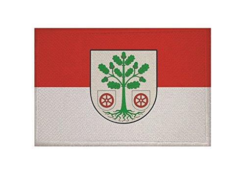 U24 Aufnäher Bad Freienwalde Fahne Flagge Aufbügler Patch 9 x 6 cm
