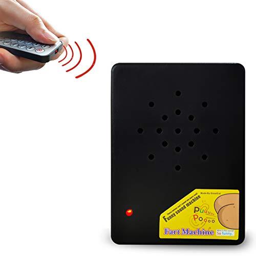 AHZI Remote Gag Gift Funny Sound Generator Joke Prank Novelties Fart Machine