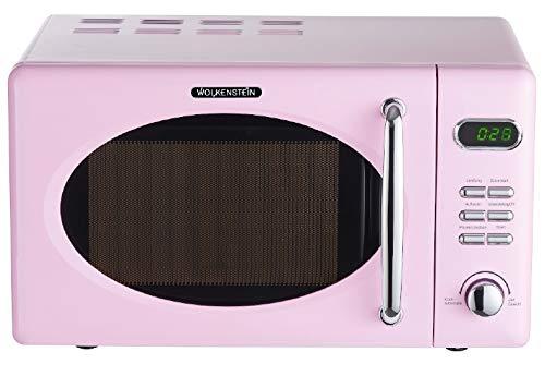 Wolkenstein WMW720 SP pink RETRO Mikrowelle 700Watt 20l nostalgie