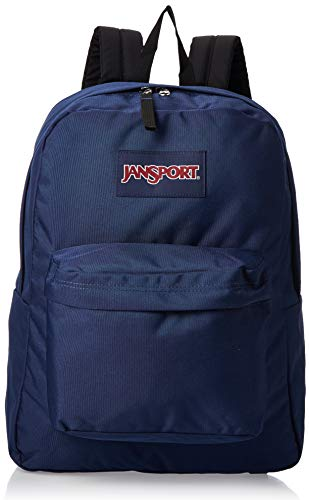 JanSport Rucksack Superbreak, navy, 42x33x21, 25 liters, T501