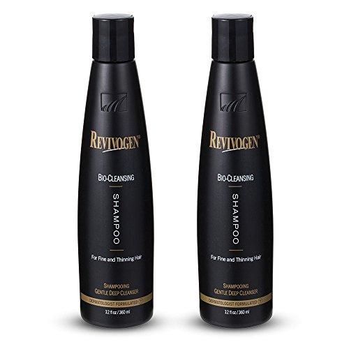 Revivogen, shampoo detergente bio, confezione da due flaconi