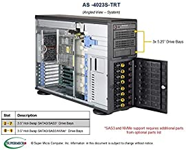Supermicro As-4023S-Trt Tower/ 4U Server - Supports Dual EPYC 7000-Series Processors