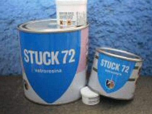 STUCK 72 Masilla de poliéster bicomponente 750 ml