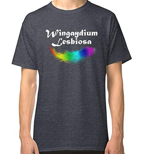 Wingaydium Lesbiosa Lesbian Pride Gay Pride Gifts and Pride Month Swag Classic T Shirt, Sweatshirt, Tank Tops, Hoodie for Men, Women Full Size.