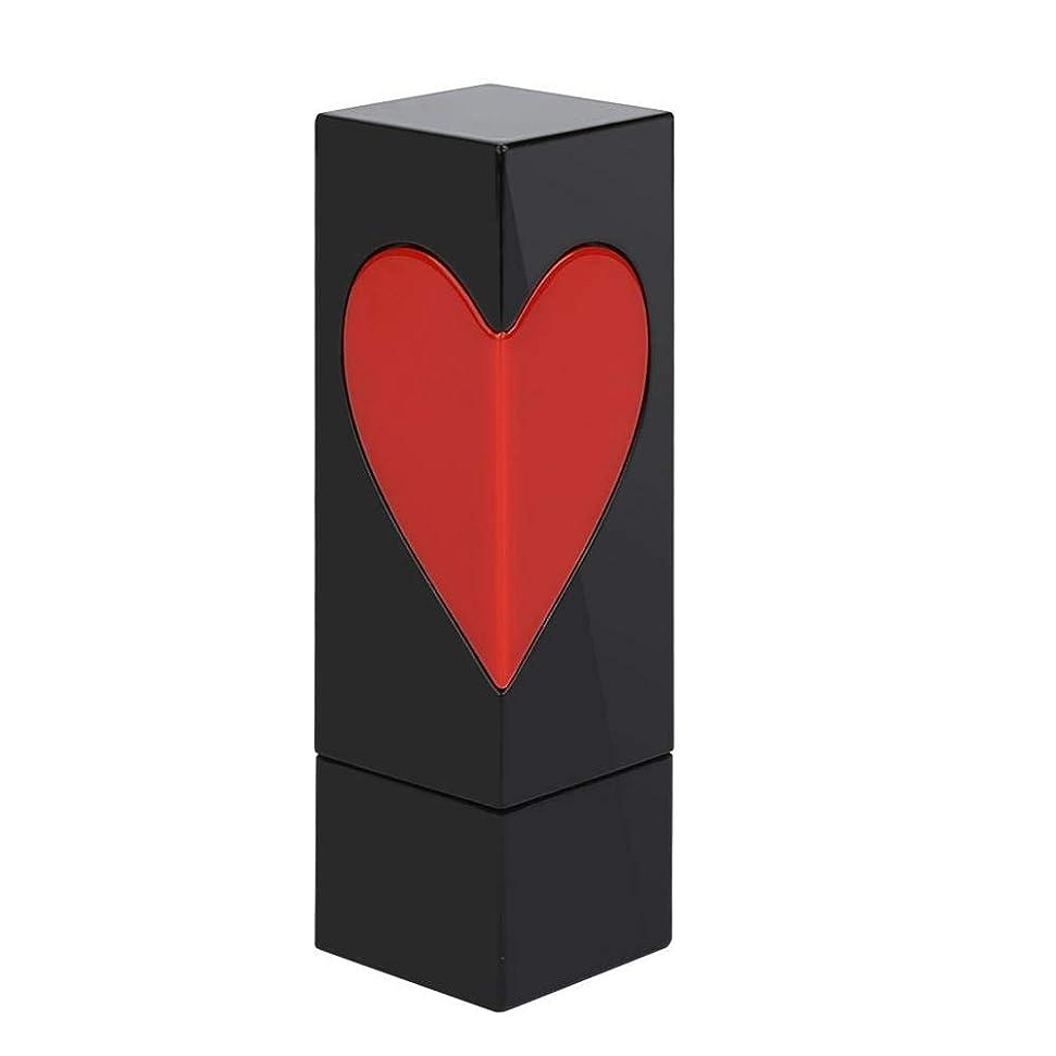 聴覚平らなツイン空口紅チューブ、かわいい 手作りリップスティックコンテナ 美しい外観 プラスチック製 口紅チューブ用 DIY用 2スタイル選べる(1枚)