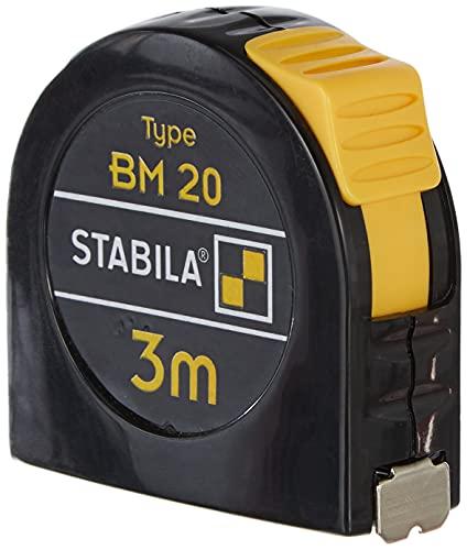 STABILA Taschenbandmaß BM 20, 3 m