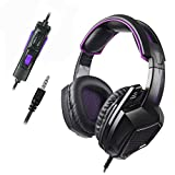 Sades Xbox One PS4 Gaming Headset SADES SA-920PLUS Wired Stereo Noise Canceling Headphone