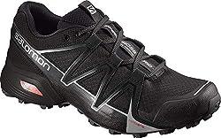 Salomon Herren Speedcross Vario 2, Trailrunning-Schuhe, schwarz (black/black/silver metallic -X) Größe: 42 2/3
