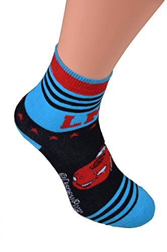 Best Deal Market 2er Pack Knaben Disney ABS Socken Gr. 27/30 Cars Gr 27 28 29 30 socken noppen warme kindersocken antirutschsocken prinzessin socken rutschfeste socken