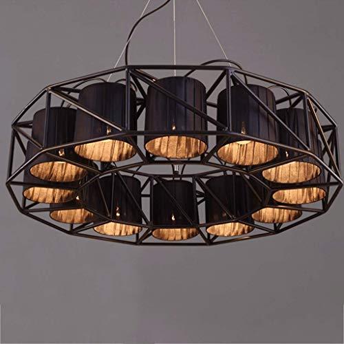 Industriellen Stil Eisen Kunst Kronleuchter/Hängende Lampe/Pendent Licht, Wohnzimmer Restaurant Tuch Lampe Retro Technik Dekoration Licht, BOSS LV