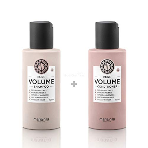 Maria Nila Pure Volume Set - Shampoo 100 ml + Conditioner 100 ml