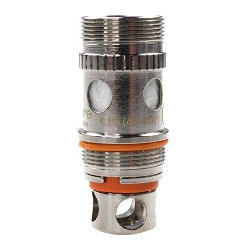 Aspire Triton 2 Clapton Coil Verdampferkopf mit Spiralwicklung, 0.5 Ohm, 1er Pack (1 x 5 Stück)