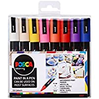 Posca 153544848 - Set de rotuladores de pintura al agua