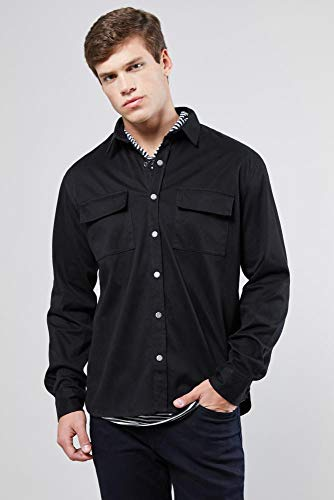 Camisa Overshirt Veludo