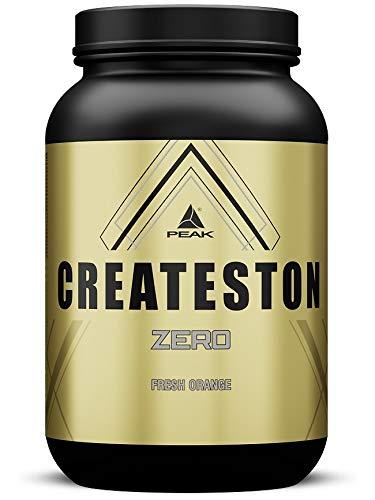 PEAK Createston ZERO Fresh Orange 1560g | NEW | ALL-in-one Formula | Whey Protein Isolat | EAAs |