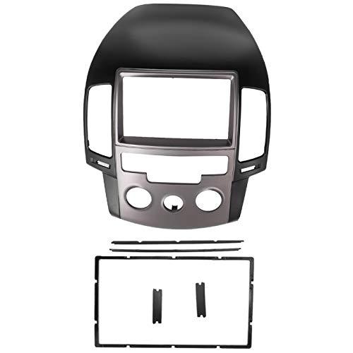 Telaio per autoradio, per Hyundai I-30 2008-2011 (Manuale AC/LHD) 2Din, Fascia Audio, Lettore Dvd, Kit di Rivestimento per Telaio del Pannello