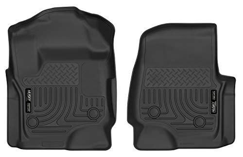 Husky Liners Fits 2017-19 Ford F-250/F-350 Crew Cab/SuperCab - with vinyl floor X-act Contour Front Floor Mats