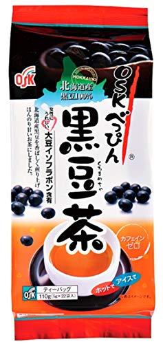 OSKべっぴん北海道産黒豆茶ティーパック(5g×22袋)×3個